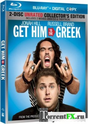 Побег из Вегаса / Get Him to the Greek [Театральная версия / Theatrical Cut] Blu-ray