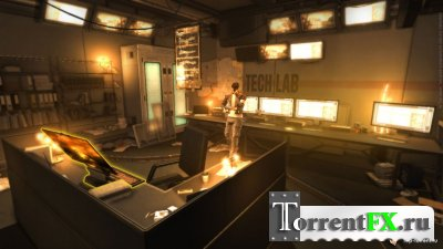 Deus Ex: Human Revolution (2011) [Preview Build,ENG]