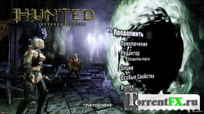 Русификатор для Hunted: The Demon's Forge v.1.0 [2011, текст]
