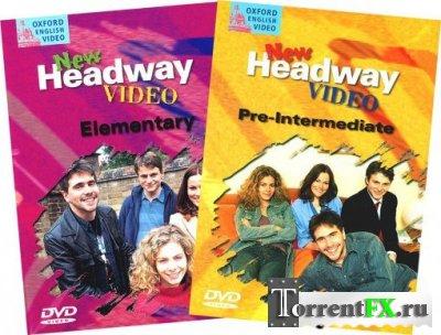 Видеокурс. Английский язык New Headway Video 4-in-1 + Книги