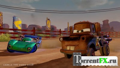 Тачки 2 / Cars 2: The Video Game (RUS) [Repack]