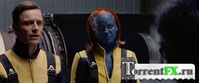 Люди Икс: Первый класс / X-Men: First Class (2011) DVDRip | Лицензия