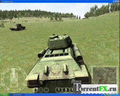 WW II Battle Tanks T-34 VS. Tiger