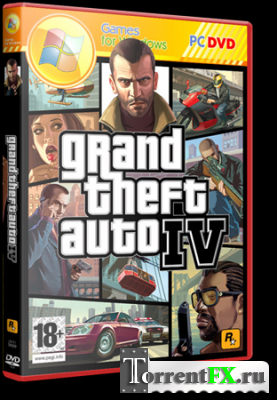 GTA 4 / Grand Theft Auto IV [v.1.0.7.0] (2008) PC | RePack by xatab