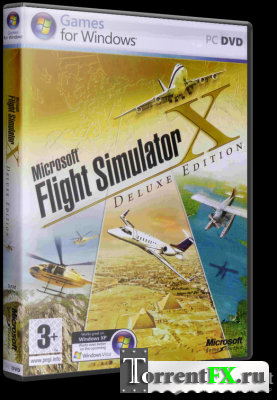 Microsoft Flight Simulator X (Deluxe Edition) + Microsoft Flight Simulator X: Разгон
