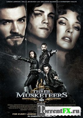 Мушкетеры / The Three Musketeers (2011) TS