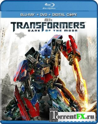 ������������ 3: Ҹ���� ������� ���� / Transformers: Dark of the Moon (2011/HDRip)