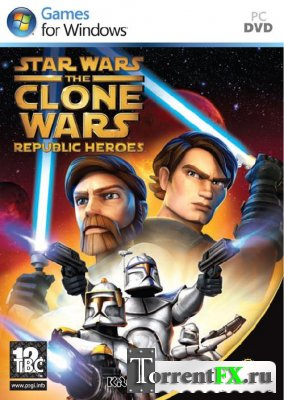 Star Wars: The Clone Wars Republic Heroes (RUS) (Repack) (2009)