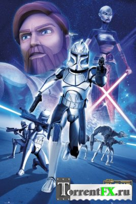 Star Wars: The Clone Wars / Звёздные Войны: Войны Клонов (Сезон 4, Серия 1-6) (2011) HDTV