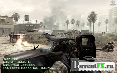 Call of Duty 4: Modern Warfare + Patch 1.7 (2007) PC | 2xDVD5