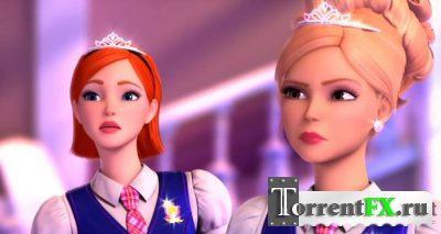 Барби: Академия принцесс / Barbie: Princess Charm School (2011) DVDRip