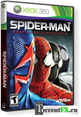 Spider-Man: Shattered Dimensions (2010/Русский) Xbox360