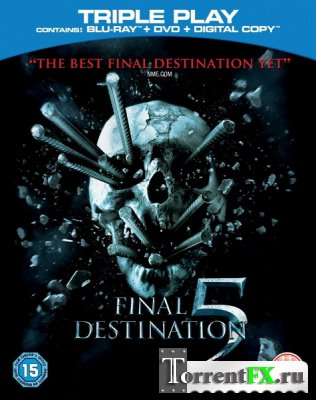 Пункт назначения 5 / Final Destination 5 (2011) HDRip - Лицензия