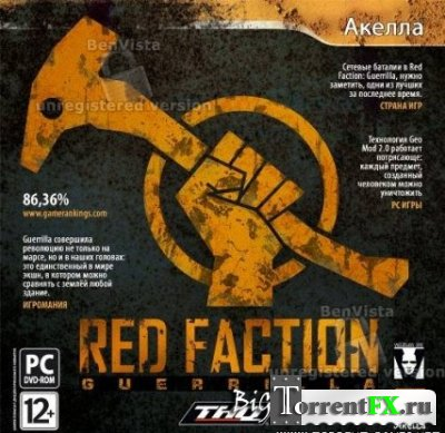 Red Faction.Guerrilla.v 1.02 + 1 DLC  (2xDVD5 или 1xDVD9) (2009) PC | Repack от Fenixx