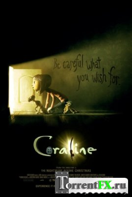 Коралина в Cтране Кошмаров / Coraline (2009) HDRip