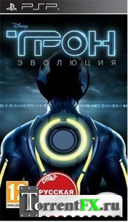 TRON: Evolution (RUS/2010) PSP