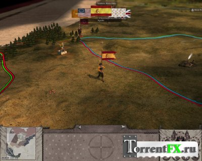 Empire: Total War - The Warpath Campagin [v.1.6 + DLC] (2009/РС/RUS) RePack