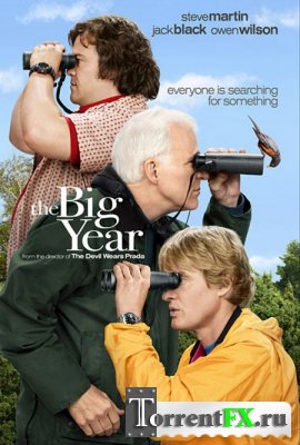 Большой год / The Big Year (2011) BDRip-AVC