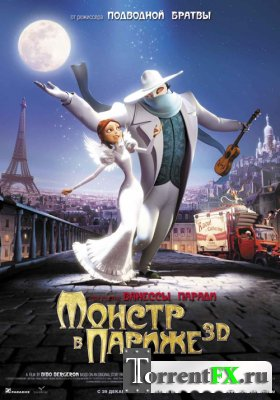 Монстр в Париже / A Monster in Paris (2011/HDRip) | Лицензия
