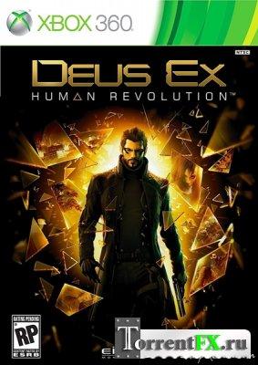 Deus Ex: Human Revolution (2011/RUS) XBOX360