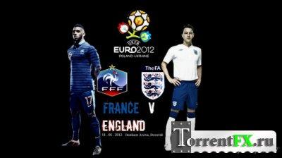 Футбол. Чемпионат Европы 2012. Группа D. 1-й тур. Франция - Англия (2012) SATRip