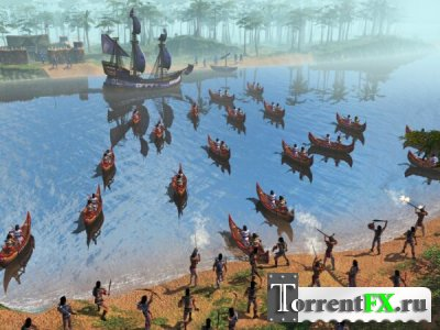 Age Of Empires III: The Warchiefs (2006/PC/Русский)