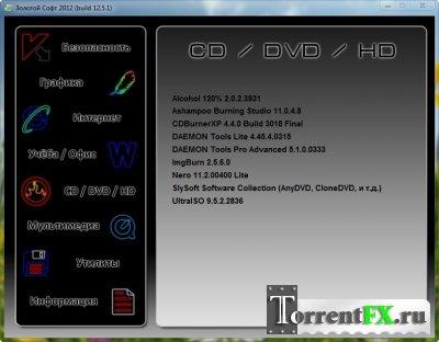 Сборник программ - Золотой Софт - 2012 12.5.1 (2012)