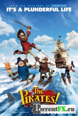 ������! ����� ����������� / The Pirates! Band of Misfits (2012/HDRip) | ��������