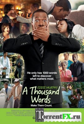 Тысяча слов / A Thousand Words (2012) HDRip