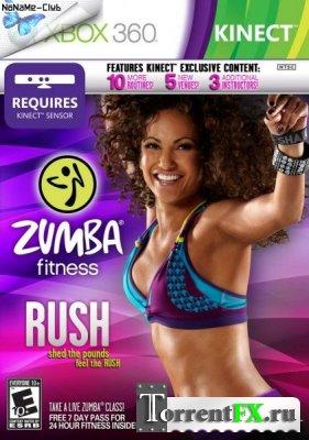 Zumba Fitness: Rush (2012/ENG) XBox360 [KINECT]