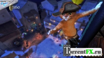 Puss in boots (2011/ENG) Xbox360 [Kinect]
