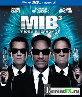 Люди в черном 3 / Men in Black 3 (2012) BDRip 1080p