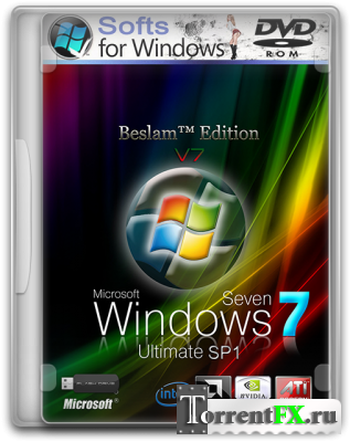 Windows 7 Ultimate SP1 (x86/x64) Beslam™ Edition [v7] 2DVD (2012/PC/Русский)