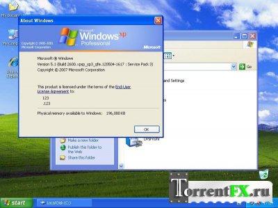 Windows Xp Pro Sp3 [x86,32bit] (2012/PC/Русский)