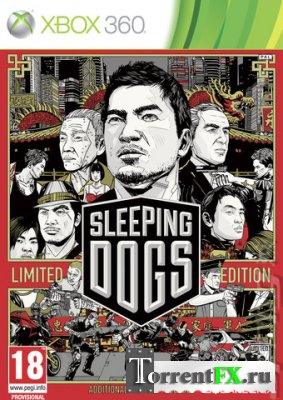 Sleeping Dogs [2012, Action (Shooter) / Racing (Cars / Motorcycles) / 3D / 3rd Person][Xbox360][PAL][RUS]