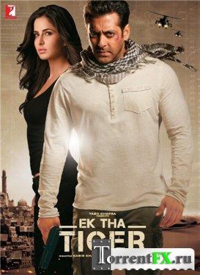 Жил-был тигр / Ek Tha Tiger (Кабир Кхан) [2012, боевик, триллер, DVDRip] VO