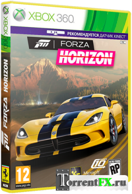 Forza Horizon (2012/RUS) XBOX360 + Kinect