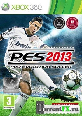 Pro Evolution Soccer 2013 (2012/RUS) Xbox360 [LT+2.0]