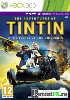 The Adventures of Tintin: The Game (2011/RUS) Xbox 360 [LT+2.0] Kinect