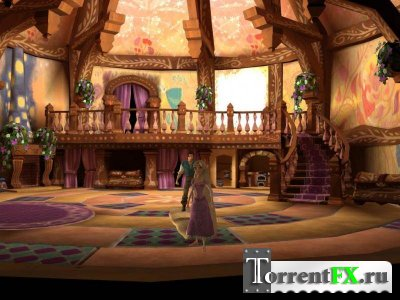 Рапунцель. Запутанная история / Disney Tangled. The Video Game (2010) PC | Лицензия