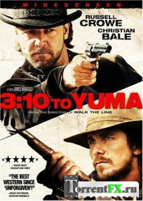 Поезд на Юму / 3:10 to Yuma (2007/HDRip)