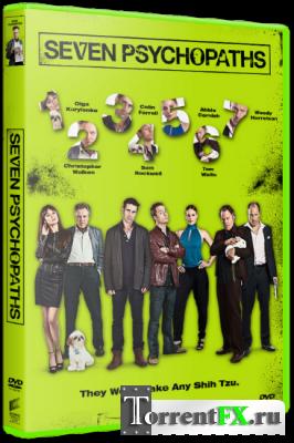 Семь психопатов / Seven Psychopaths (2012) DVDRip