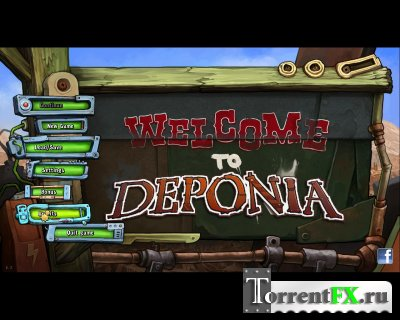 Депония / Deponia (2012) PC | Steam-Rip