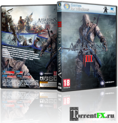 Assassin's Creed 3 - Deluxe Edition [v 1.02 + 3 DLC] (2012) PC