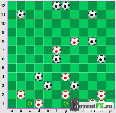 Футбол-шашки (2013) PC