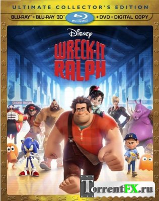 Ральф / Wreck-It Ralph (2012) WEB-DLRip | Чистый Звук