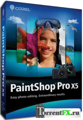 Corel PaintShop Pro X5 15.2.0.12 SP2 (2013) PC | RePack by MKN