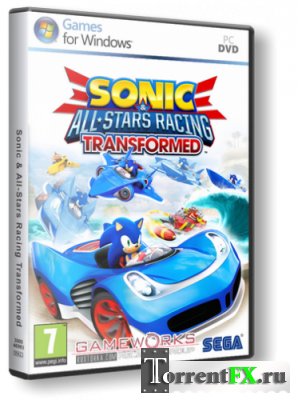 Sonic & All-Stars Racing Transformed [2013, ENG/ENG, Repack]
