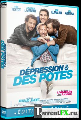 Депрессия и друзья / Depression et des potes (2012) HDRip