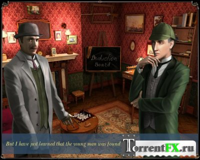 Adventures of Sherlock Holmes: The Mystery of the Persian Carpet (2008) PC